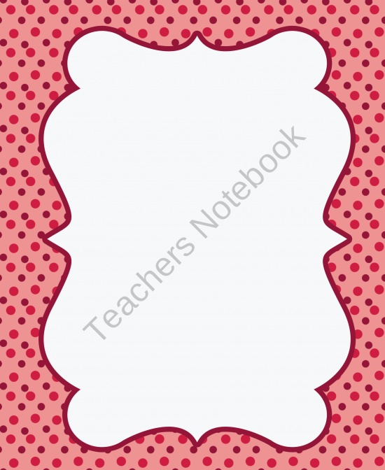 free frames and borders product from the 3am teacher designs on teachersnotebook