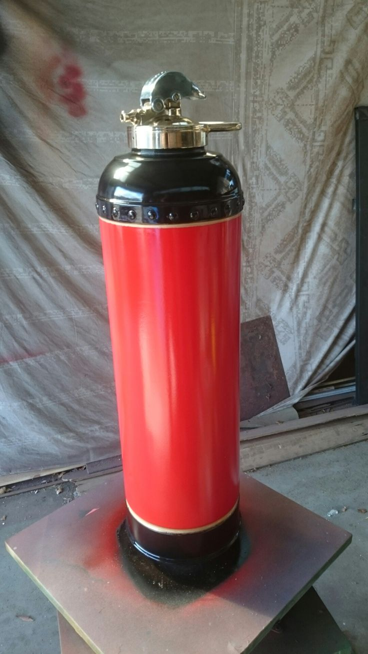 Fire extinguisher  https://www.facebook.com/rusticindustrial3280/