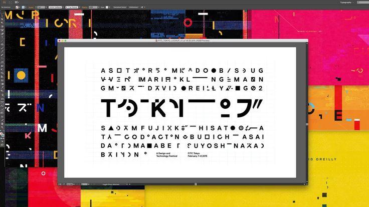 FITC Tokyo 2015 Titles Process Reel on Vimeo