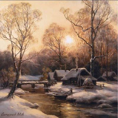 Сатаров, Зимний закат