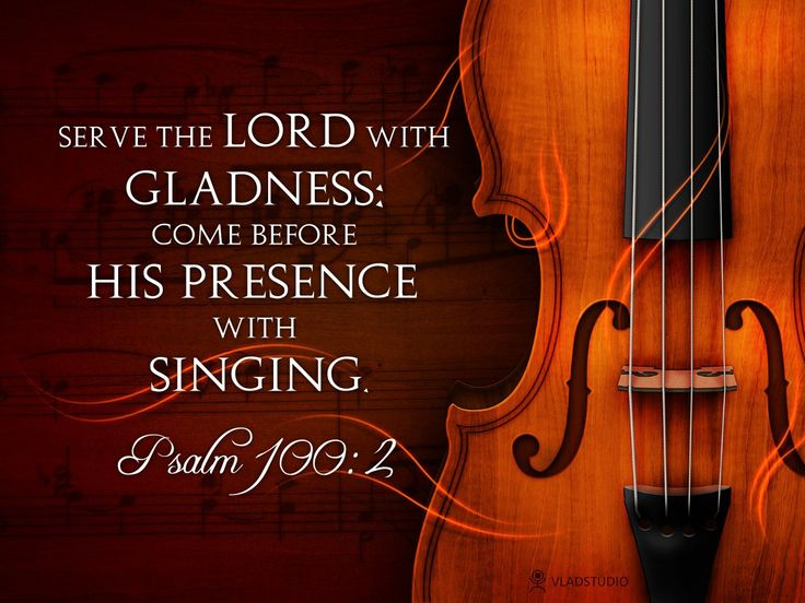 """With God, there is no such thing an a bad voice. He has told us """"make a joyful NOISE unto the Lord.'"""