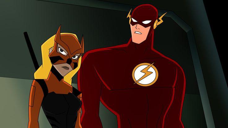 DCAU - Tigress and The Flash by TitanBeast.deviantart.com on @DeviantArt