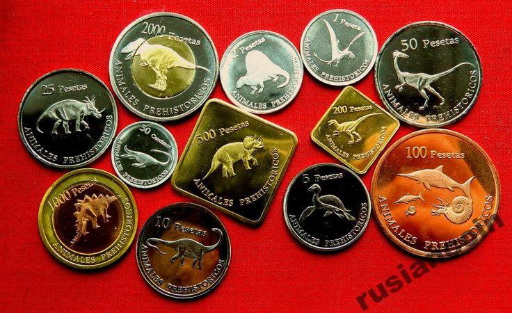 Набор Арабы Сахара 2013 динозавры хищники с Рубля