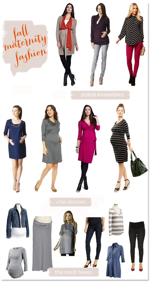 Almost all of last year fall maternity fashions work great for this year too- look for this years latest trends coming up next week!