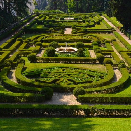 VATICAN GARDENS #Italy #Vatican #Gardens | I'de like to say God designed it but Donato Bramante was the first landscape architect for Pope Julius II