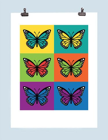 Monarch Butterfly Print – Greg Straight Shop