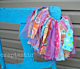 CRAPTASTIC: Scrap Fabric Tutu!