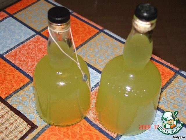 Лимонный ликер - Limoncello - кулинарный рецепт