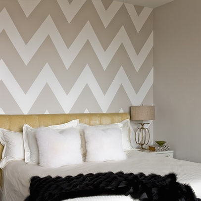 Wallpaper Accent Wall, Stick The Wall Paper Onto Plywood For A Headboard? Part 57