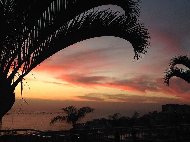 Sunset Puerto De Santiago, Tenerife