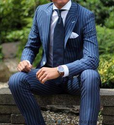 Best 25  Blue pinstripe suit ideas on Pinterest | Navy pinstripe ...
