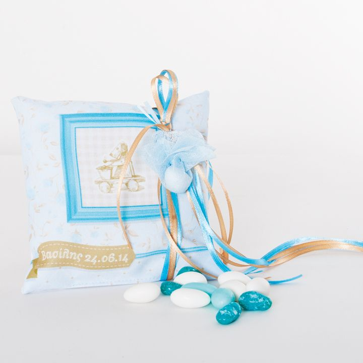 Little Pillow printed with the invitation concept http://www.bamthestore.com/shop/proionta/boboniera-maxilaraki/