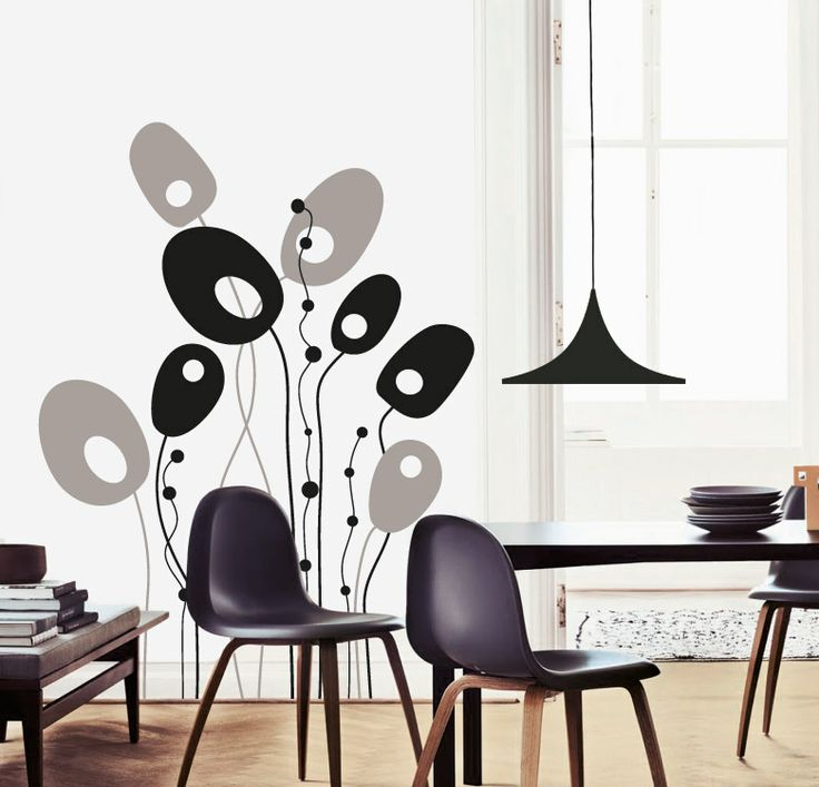 25 best muursticker images on pinterest cool things for Stickers decorativos