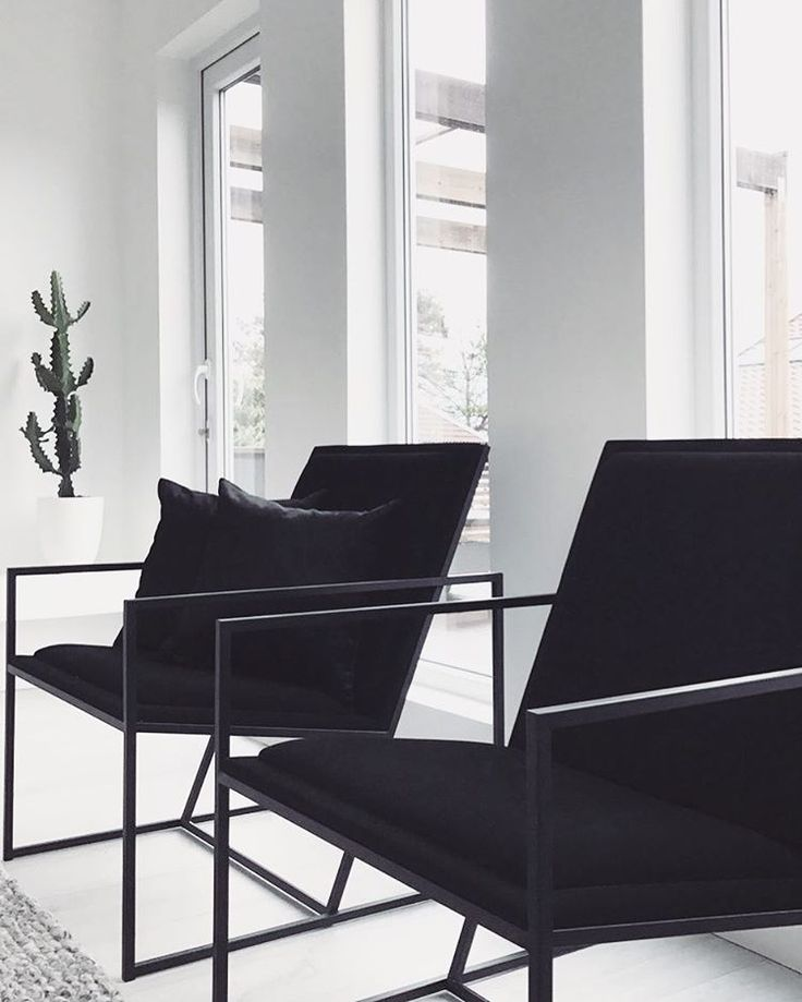 "1,199 mentions J'aime, 25 commentaires - My Home My Fashion! (@noracim) sur Instagram : ""Black chairs◼️◼️"""