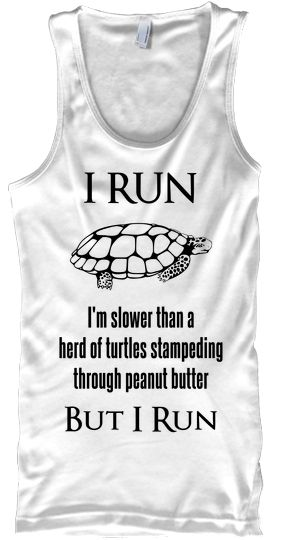 I should start running just so I can wear this!