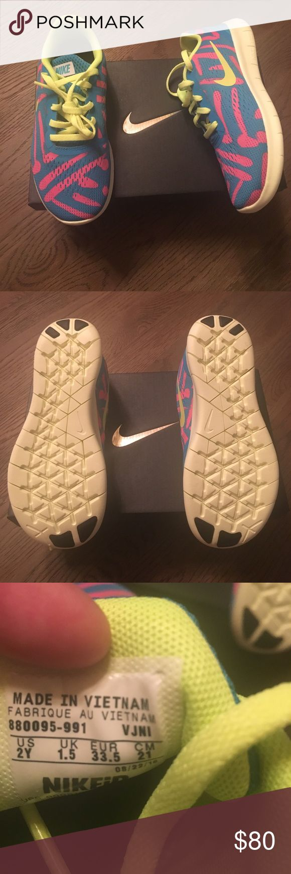 Girls NIKEID shoes. Brand new, never worn. Sz 2Y Girls NIKEID shoes. Brand new, never worn. Sz 2Y Nike Shoes Sneakers