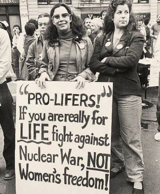 "4,790 Likes, 44 Comments - @lgbt_history on Instagram: """"'PRO-LIFERS!' IF YOU ARE REALLY FOR LIFE FIGHT AGAINST NUCLEAR WAR, NOT WOMEN'S FREEDOM!,"" Women's…"""