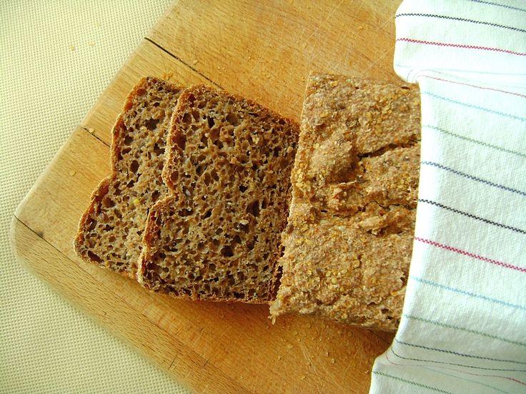 Chleb żytnio pszenny z lnem