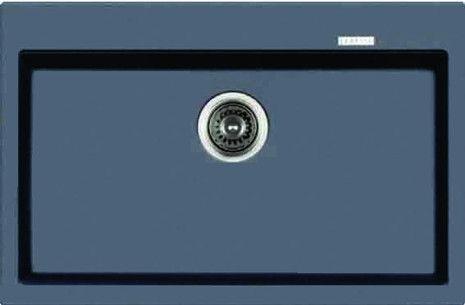 Waltz Hansloren zlewozmywak kuchenny 510x780 czarny metalik - WACN-1WMB  http://www.hansloren.pl/Zlewozmywaki-granitowe/Zlewozmywaki-1-komorowe/HANSLOREN