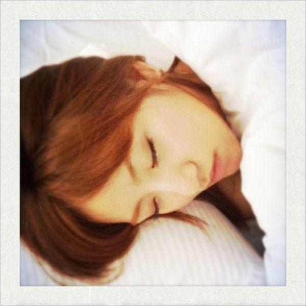 たかみな寝顔 #AKB48