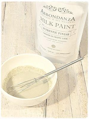 Abbondanza Milk Paint mengen