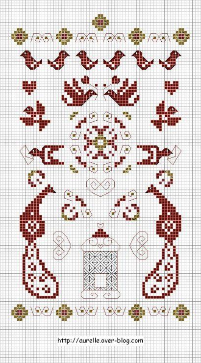 Gallery.ru / Free pattern by plum Street Sampler - В ...