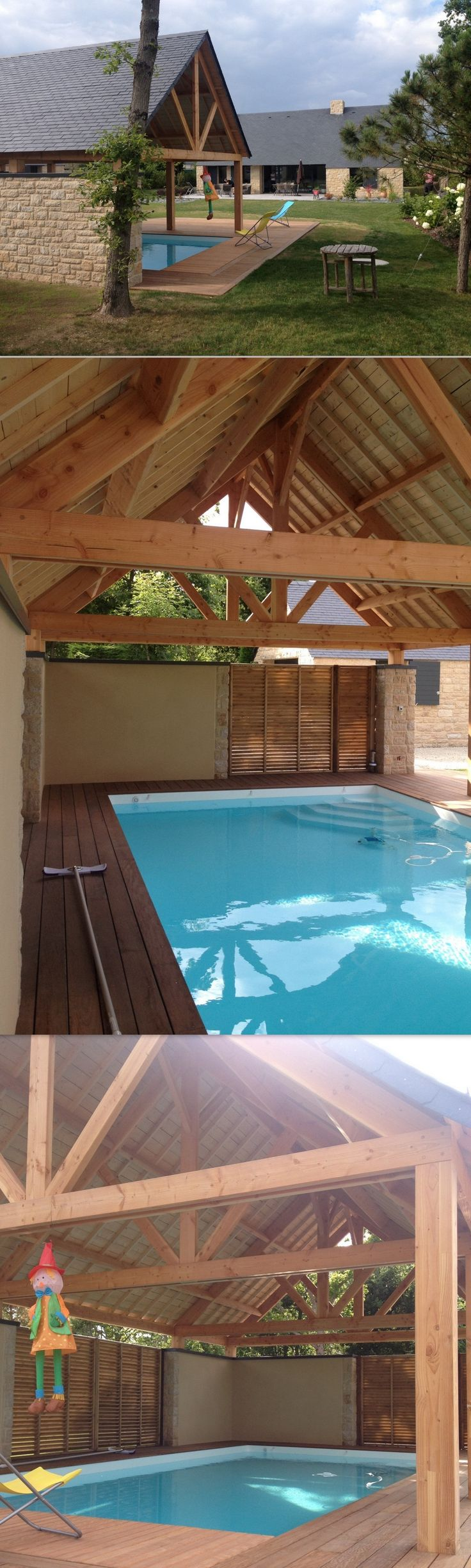 17 best ideas about abris de piscine on pinterest for Constructeur piscine 17
