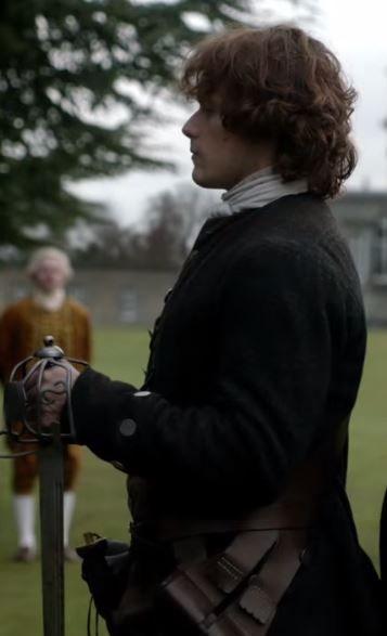 jamie fraser dueling in france, Season one, second half #Outlander