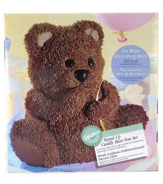 D Teddy Bear Cake Pan Hobby Lobby