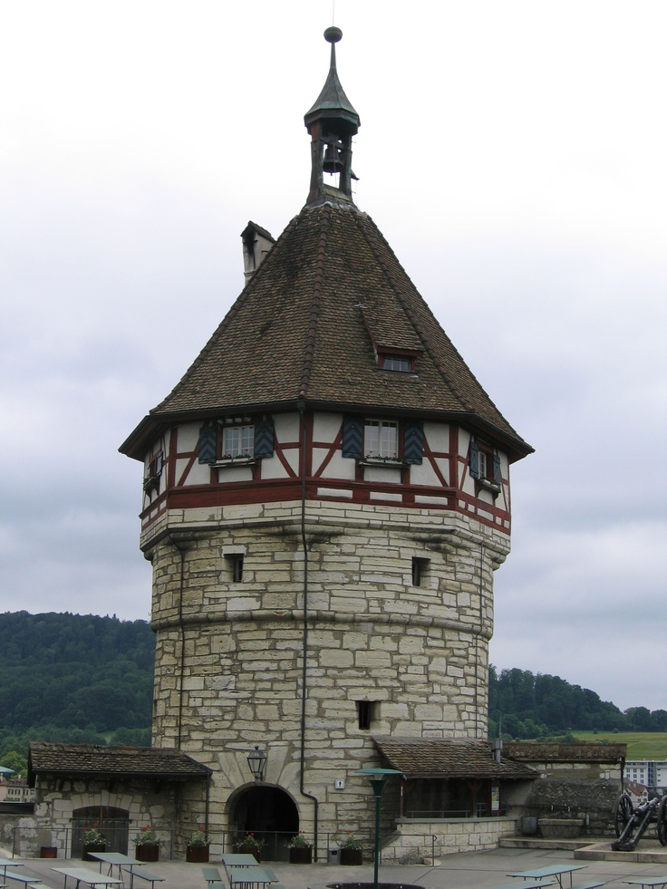 Munot tower @ Shaffhausen, Switzerland