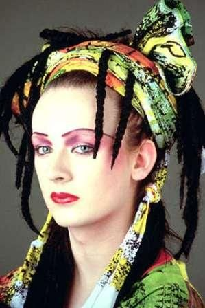 Boy George in Culture Club's early days wearing Sue Clowes circa 1982.jpg 299×448 pixels