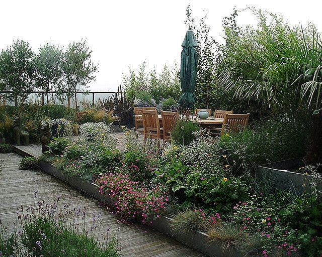 Modular Roof garden plants, Penthouse garden, Garden design