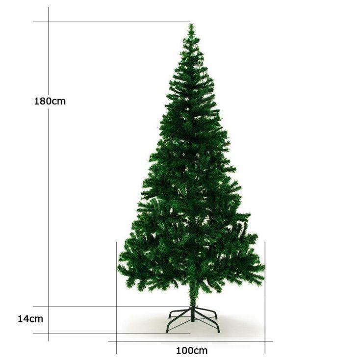 Weihnachtsbaum Tannenbaum 180cm Künstlicher Christbaum Weinachten Kunstbaum Deko