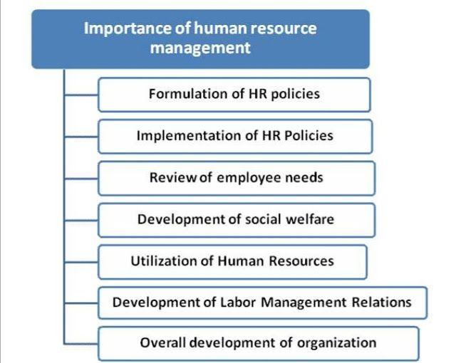 What Is The Importance Of Human Resource Management ما هي أهمية إدارة الموارد البشرية