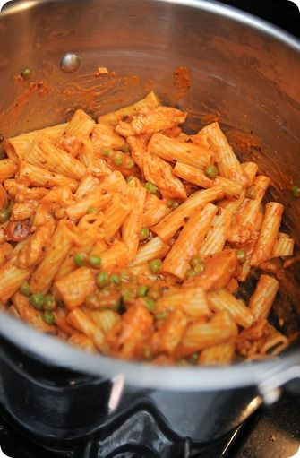 I made the Spicy Chicken Rigatoni for dinner last night and it was amazing!  Everyone loved it.  It was a very inexpensive, quick and easy meal - we had leftovers, even after Stephen had two helpings.  Would highly recommend!  This link has several recipies that look good - I will definately try more!