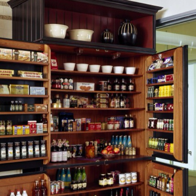 Pantry idea | Ideas for House | Pinterest | Pantry ideas