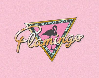 "@Behance portfolio: ""Flamingo"" http://on.be.net/1MAY8J4 #brand #branding #logo…"