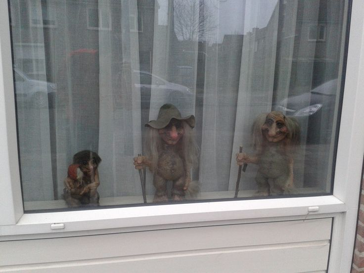 Window of a house in the Netherlands :p
