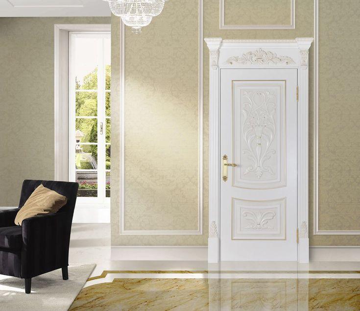 Межкомнатная дверь RuLes в интерьере #двери #межкомнатные #интерьер #русский_лес