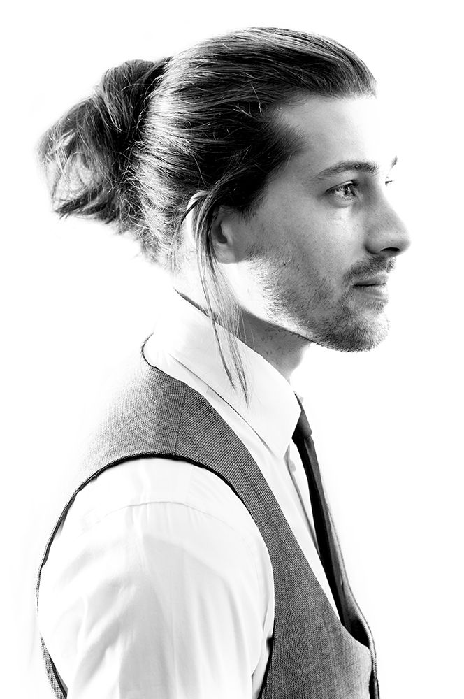4 Long Hair Style Ideas For #Men: #Bun, Cornrow, Pomp Slickster