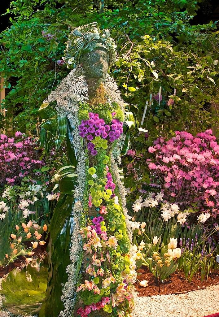 Container Garden Pictures | container gardening picture of Boston Flower Show