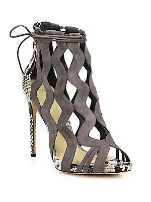 Alexandre Birman Loretta Suede  |  @  shoes ( booties )