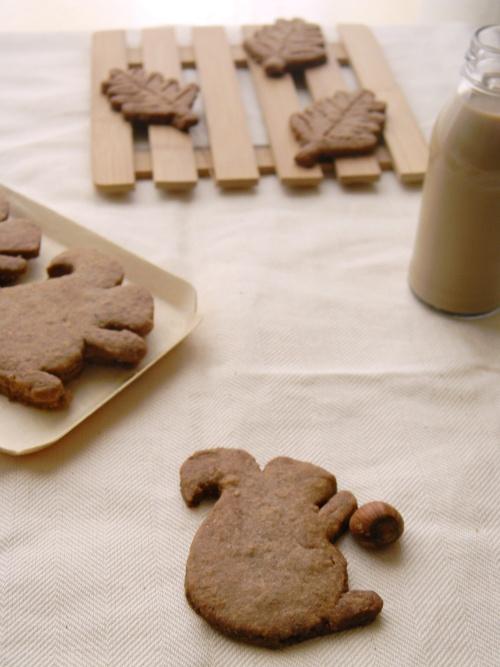 Biscotti con miglio e nocciole - Millet & hazelnut cookie