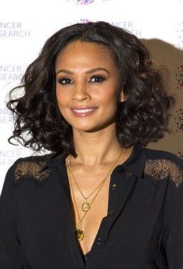 Alesha Dixon Classic Boutique Lace Front Wig 100% Human Hair about 14 Inches for African American Women