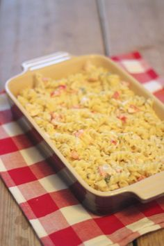 Pasta-ovenschotel met boursin