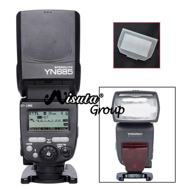 Aliexpress.com: Kup Yongnuo HSS YN685 YN 685 GN60 2.4G System E TTL Bezprzewodowa Lampa Błyskowa flash z radio slave dla canon 700d 650d + darmowe dyfuzor od zaufanego speedlight flash dostawcy na Misuta Group