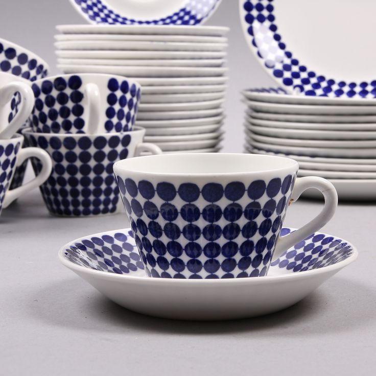 Adam porcelain by Swedish Stig Lindberg for Gustavsbergs Porcelainfactory.