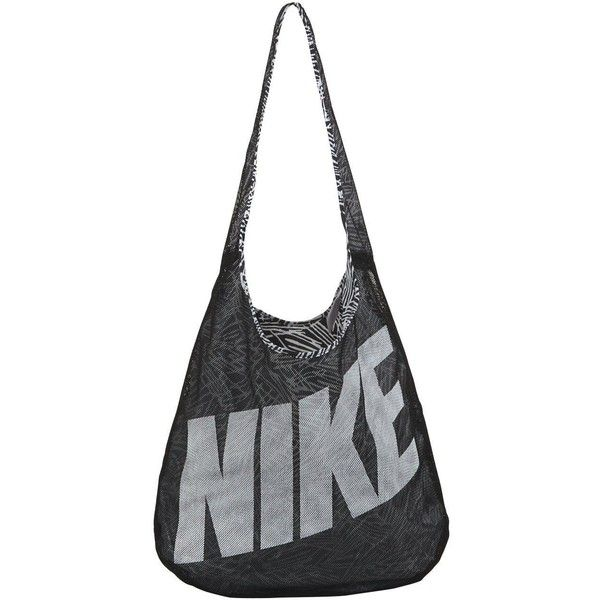 Nike Bolsa&Nbsp;Graphic Reversible Tote&Nbsp; ($29) ❤ liked on Polyvore featuring bags, handbags, tote bags, white tote purse, nike tote, nike, sport tote and tote bag purse