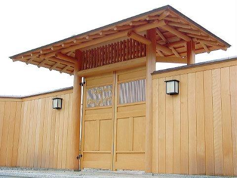 Beautiful Japanese style gate
