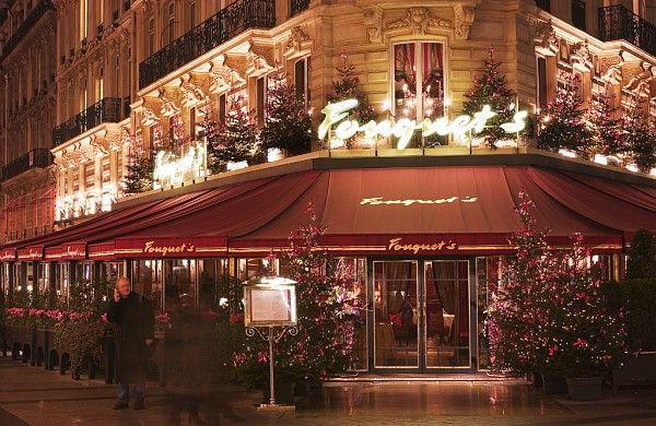 Louis Fouquet created his landmark Champs-Elysees restaurant in 1899. It was acquired in 1999 by the Groupe Lucien Barrière